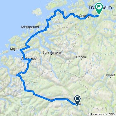 Insane crazy route