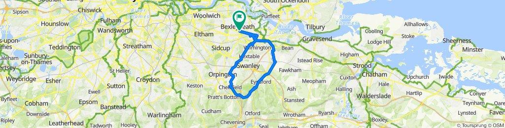 Bexleyheath - Chelsfield - Eynsford