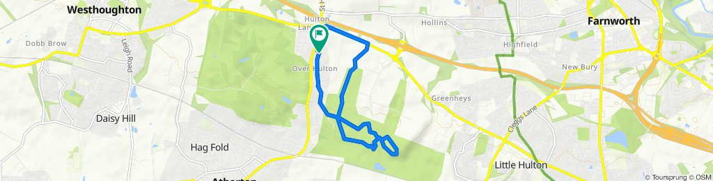 Over Hulton Country Park Loop