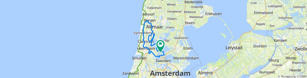 FVW Drive By Heiloo 93km