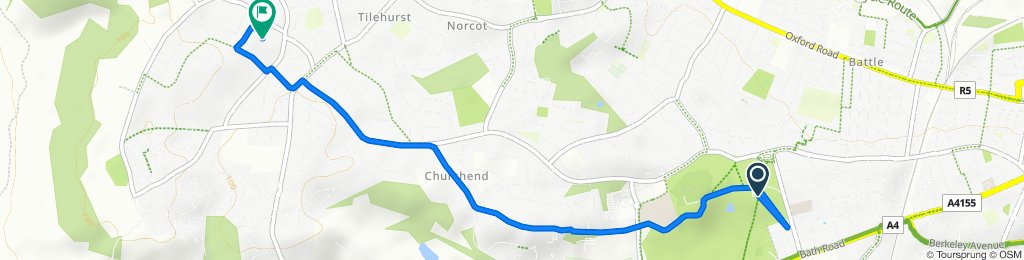 Liebenrood Road 32 to Hayfield Close 18