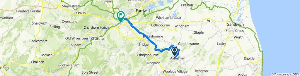 Dorman Avenue North 34, Aylesham to Tannery Way South 18