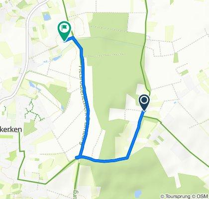 Makkelijke rit in Nieuwerkerken