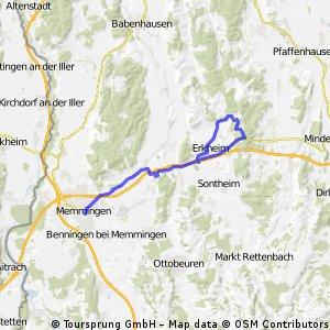 Memmingen - St. Johann - Memmingen