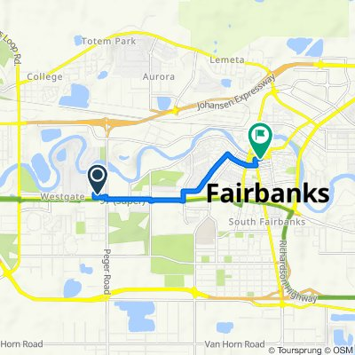 2600–2698 Ruby Ave, Fairbanks to 537–547 Second Ave, Fairbanks