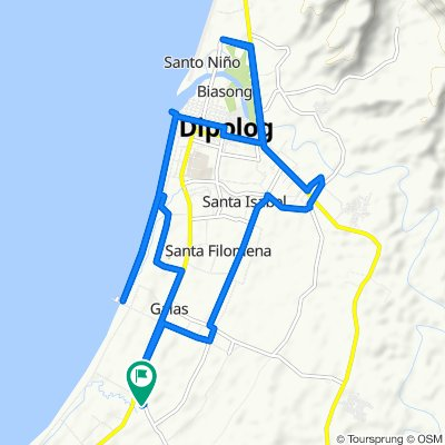 Relaxed route in Dipolog City