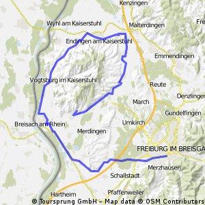 Rund um den Kaiserstuhl