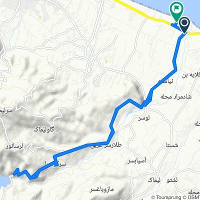 Relaxed route in Ketalem and Sadat Shahr