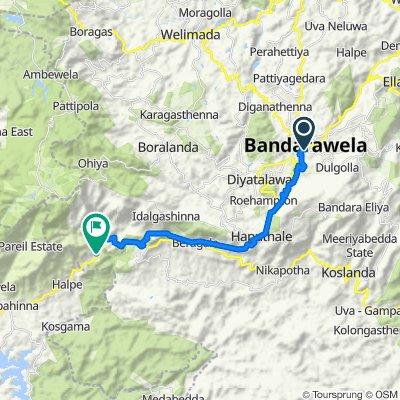 Bandarawela-Haputale