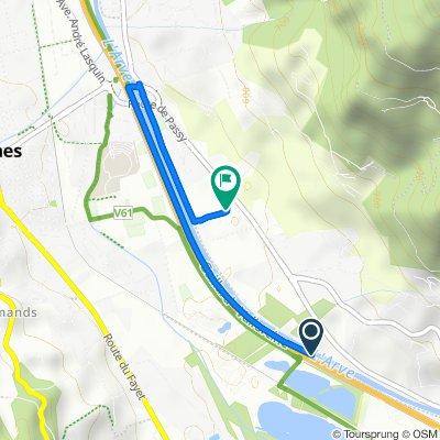 Itinéraire modéré en Sallanches