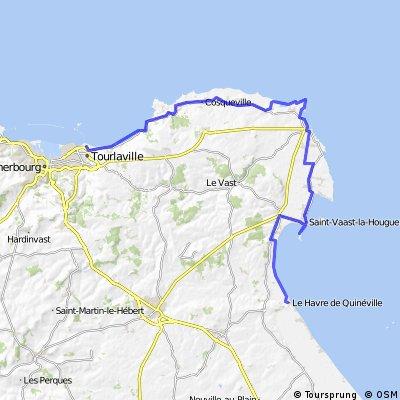 14 - Quineville nach Cherbourg