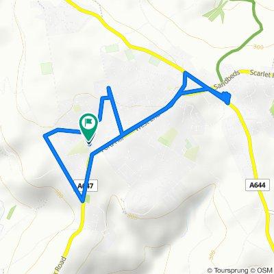 19 Ambleton Way, Bradford to 15 Ambleton Way, Bradford