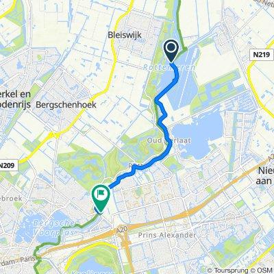 Rottekade 2c, Zevenhuizen to Rietstapstraat 12, Rotterdam