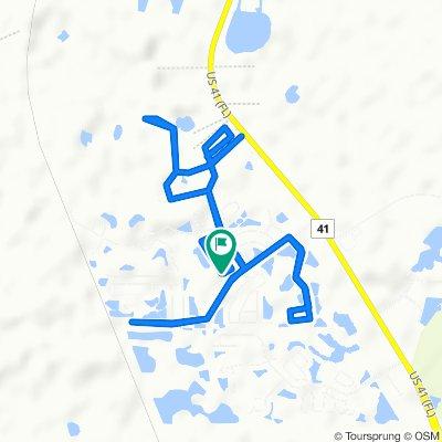 9746 Jasmine Brook Cir, Land O Lakes to 9749 Jasmine Brook Cir, Land O Lakes