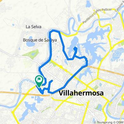 Paseo lento en Villahermosa
