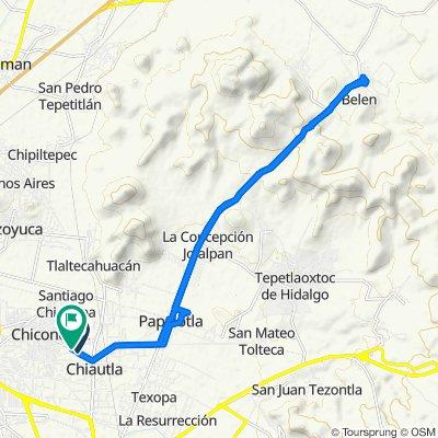 De Morelos 5, Chiautla a Matamoros s/n, Chiautla