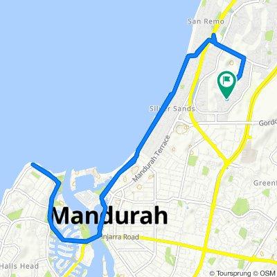 1 Firestone Place, Mandurah to 1 Firestone Place, Mandurah