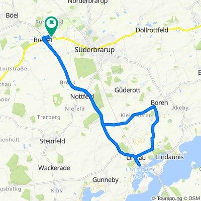 Moderate Route in Brebel