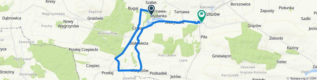 Unnamed Road do Dworcowa 55, Sędziszów