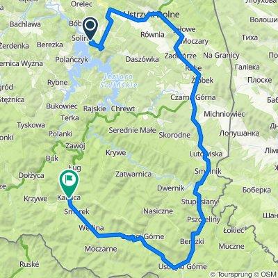 Tour de Korona Polski 2020 dzień 2