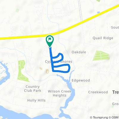 Restful route in New Bern
