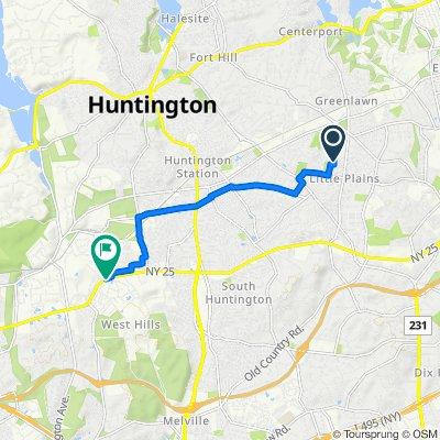 9 Birch Pl, Huntington to 770 W Jericho Tpke, Huntington