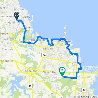 Faine Street 47, Manly West to Flinders Street 12, Alexandra Hills