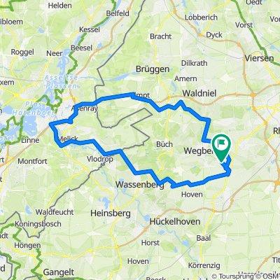 Wegberg - Elmpt - Roermond - Odilienberg