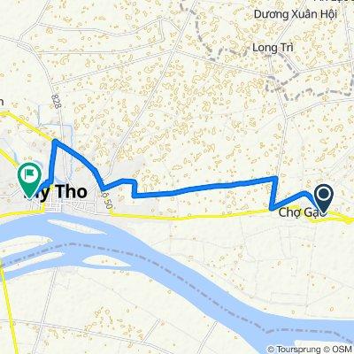 Route to 2/3 Đường Lý Thường Kiệt, My Tho