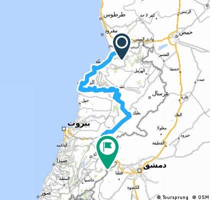 Libanon komplett