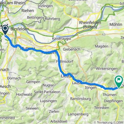Basel to Gelterkinden