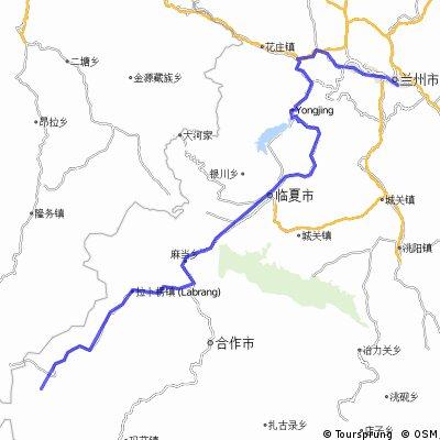 Lanzhou - Xiahe