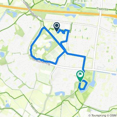 start2bike dag 1 heenweg