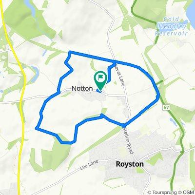10 Notton Lane, Wakefield to Notton Lane, Wakefield