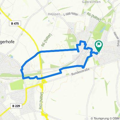 A7 - Wanderung zur alten Hansestadt Soest