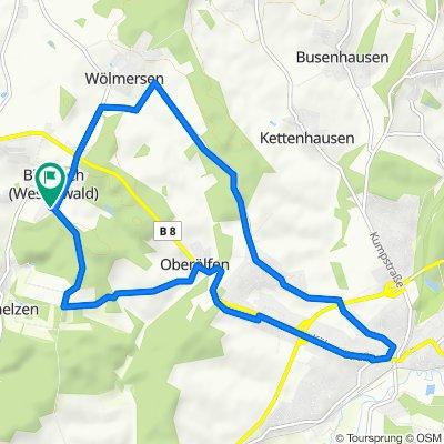 Schnelle Tour in Birnbach