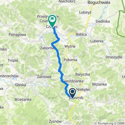 Umiarkowana trasa w Czudec