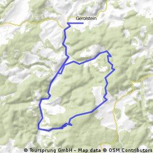 Hügelige Eifel