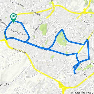 Slow ride in Sarchinar