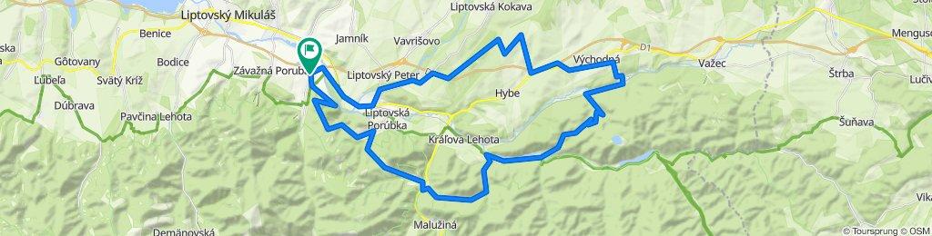 Cyklotrasa/Bike Route 1 | mtbliptov.bike