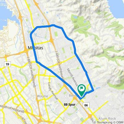21.2KMS / 13 miles