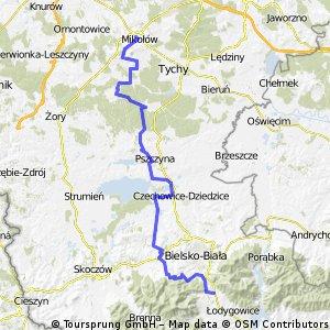Mikolow-Bielsko Biala-Wilkowice