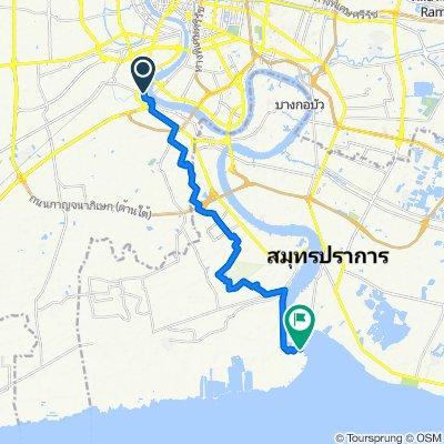 Route from ถนนราษฎร์บูรณะ, กรุงเทพมหานคร