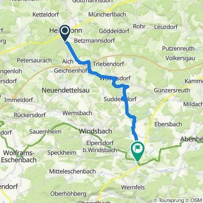 MTB Tour Heilsbronn - Wassermungenau