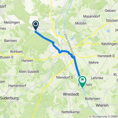 Huflattichweg 10, Uelzen nach Esterholz 1, Wrestedt
