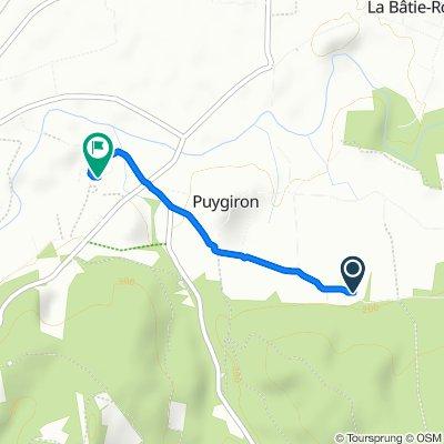 Visite rapide en Puygiron