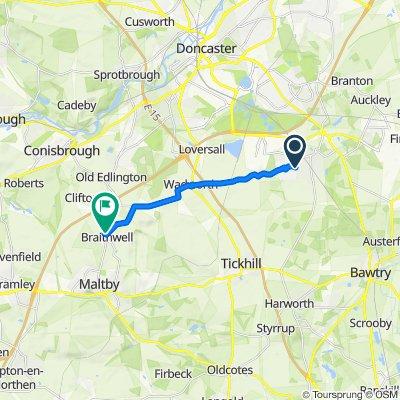 93 Aberconway Crescent, Doncaster to 7 Birchwood Gardens, Rotherham