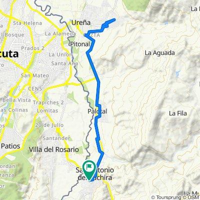 De Carrera 13, San Antonio del Táchira a Carrera 13, San Antonio del Táchira