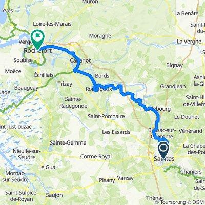 Saintes - Rochefort par Flow Vélo