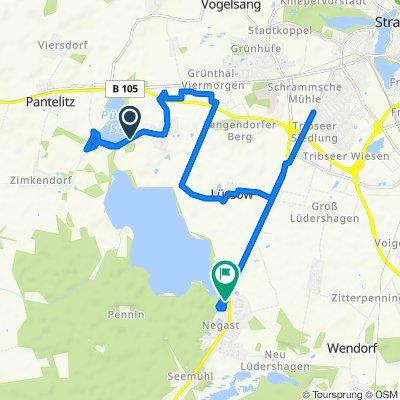Überschallgeschwindigkeitsfahrt in Steinhagen